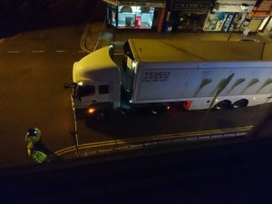 Western Road lorry