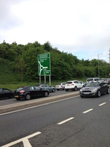 Queues on the A27 this morning by @SussexTW