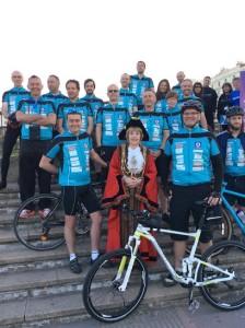 Bike ride - Mayor's charity bike ride 201605-2
