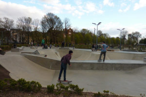 The Level skatepark by muffinn on Flickr