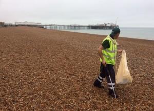 beach cleaner