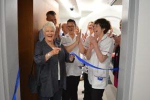 Judi Dench opens the new Park Radiotherapy Centre in Brighton