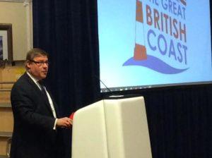Mark Francois at the Great British Coastal Conference at the Hilton Brighton Metropole in Brighton
