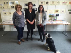 Celebrating the Preston Park Recovery Centre's 50th anniversary, from left, Councillor Julie Cattell, Lynne Thomas from Southdown Housing and Councillor Caroline Penn