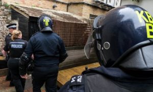 Sussex Police drugs raid