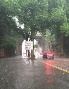 viaduct rain