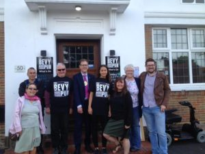 Mayor Pete West visits the Bevy in Moulsecoomb