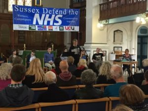 Sussex Defend the NHS meeting 20160630-1