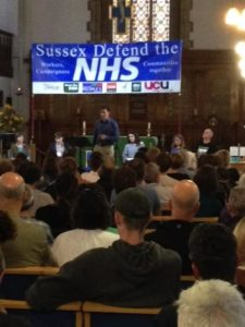 Sussex Defend the NHS meeting 20160630-2