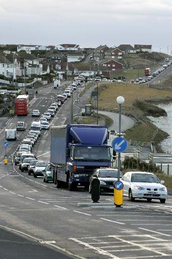Traffic A259 Saltdean - picture by Jennifer Logan