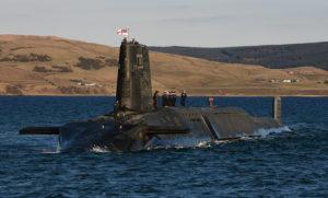 Trident Nuclear Submarine HMS Victorious by Sergeant Tom Robinson RLC/MOD