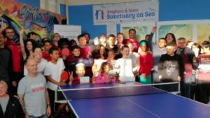 Brighton Table Tennis Club has won a national Community Integration Award