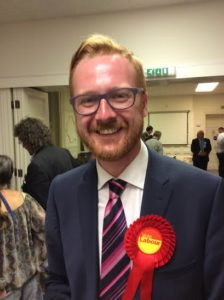 Councillor Lloyd Russell-Moyle won the last by-election in Brighton and Hove