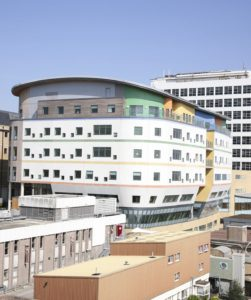 The Royal Alexandra Children's Hospital was rated outstanding by the CQC