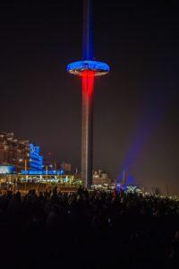 i360 fireworks - Picture courtesy of British Airways i360 / Julia Claxton