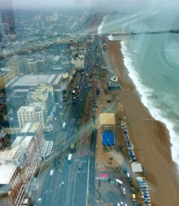 i360 view east with glare