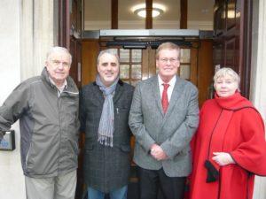 Portslade councillors Les Hamilton, Alan Robins, Peter Atkinson and Penny Gilbey