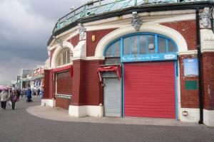 The structurally unsound Shelter Hall on Brighton seafront is to be rebuilt after the previous tenant, Riptide Gym, was forced to move out because of the condition of the building