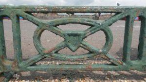 Hove seafront railings