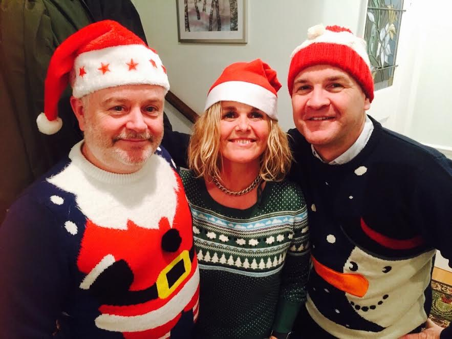 BHT managers Rob Robinson, Sharon Munnings and Daniel O'Connell launch the charity's annual Christmas appeal