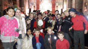 The children's remembrance service at St Bartholomew's