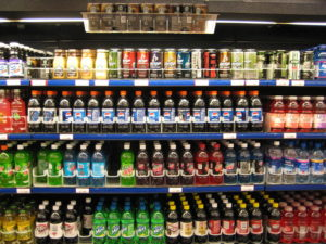 Sugary drinks by Marlith on Creative Commons