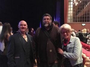 l-r Brian Warren, Josh Ford and Ruth Farnell