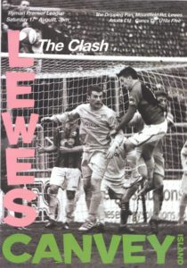lewes-fc-matchday-poster-v-canvey-the-clash