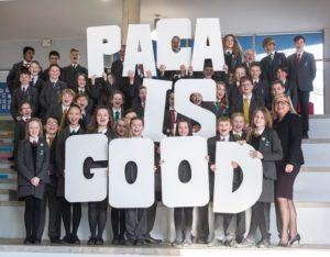PACA, Portslade Aldridge Community Academy, PR shoot, Good, Ofsted, 2016