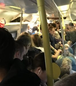 Southern overcrowding by Stuart on Twitter