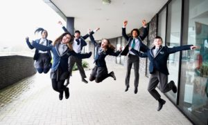 BACA students celebrate their good Ofsted report - Picture by Simon Dack / Vervate
