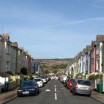 Brading Road, where the dead cat was discovered. Image by Simon Carey, licenced by Creative Commons
