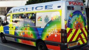Sussex Police - Pride van
