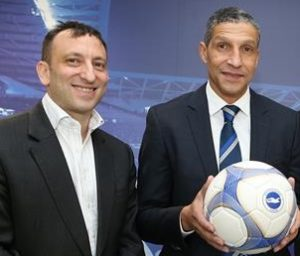 Tony Bloom and Chris Hughton