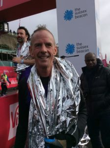 Norman Cook at the Sussex Beacon Half Marathon