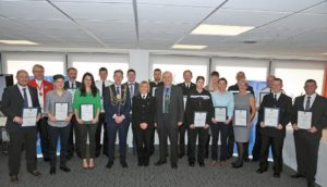 Sussex Police divisional awards 20170224