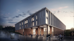 The proposed Sussex University Life Sciences Building - Image courtesy of Brick Visual