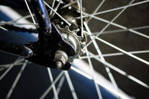 bicycle wheel by Brandon on Flickr
