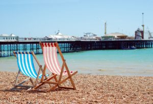 Brighton seafront and the Palace Pier