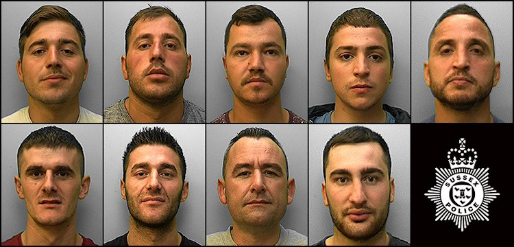 Brighton And Hove News Brighton And Hove Drugs Gang Jailed