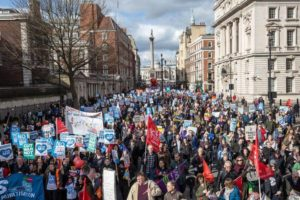 Save Our NHS demo London 20170304-1