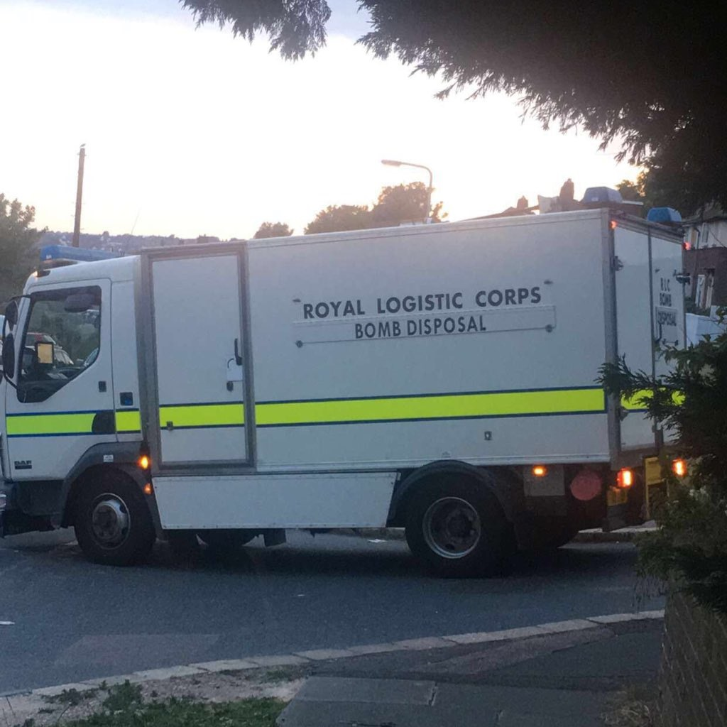 Brighton and Hove News » WW2 mortar bomb was found by dog walker