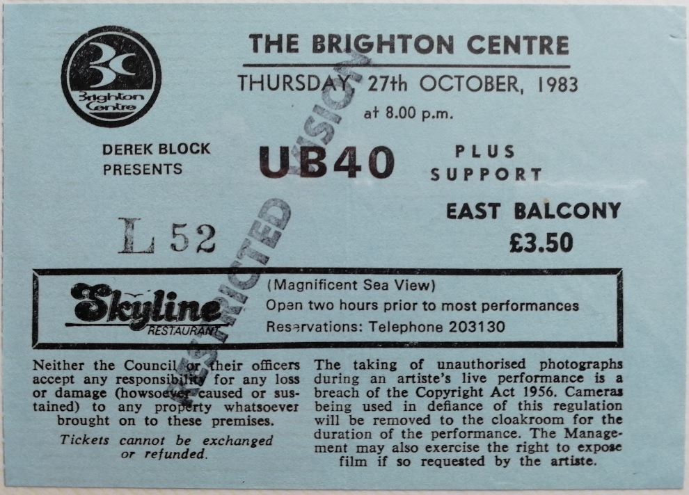 Brighton and Hove News » UB40 40th anniversary tour closes