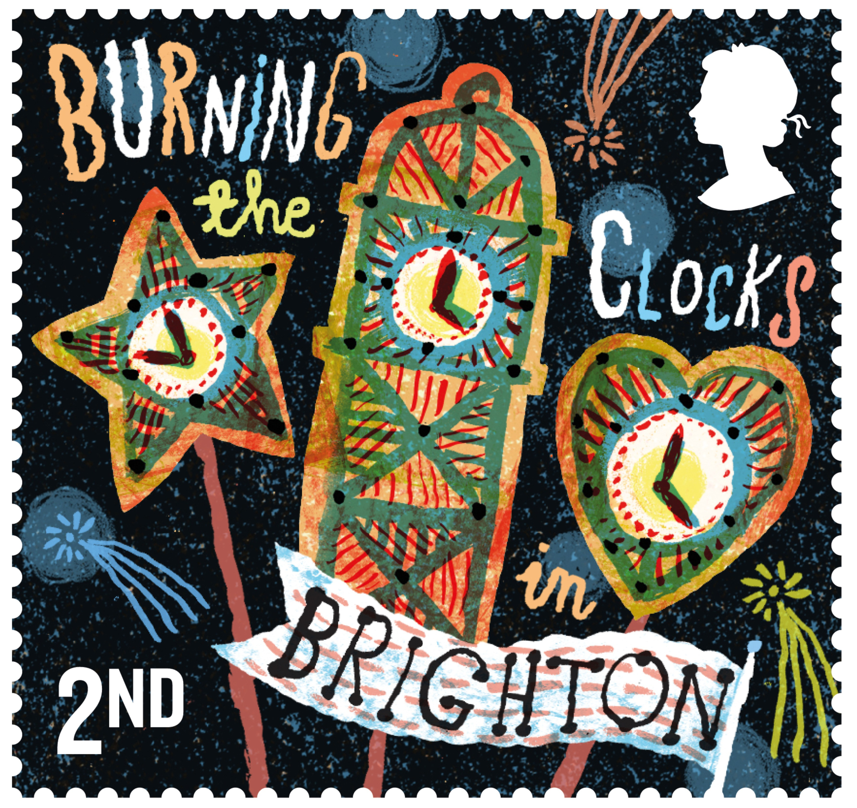 Brighton and Hove News » Burning the Clocks featured in new stamp