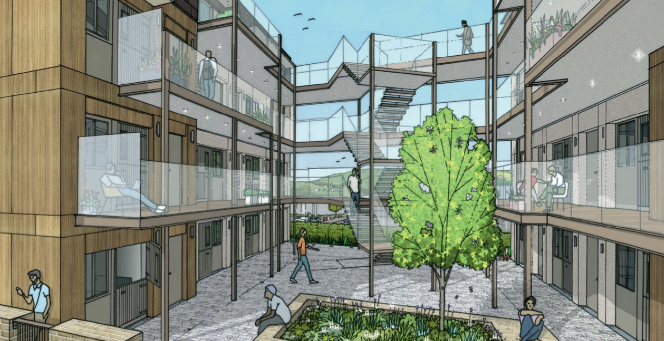 Thirty prefab flats planned for 'blighted' Moulsecoomb site