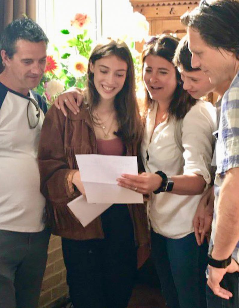 King's School GCSE results day 2019