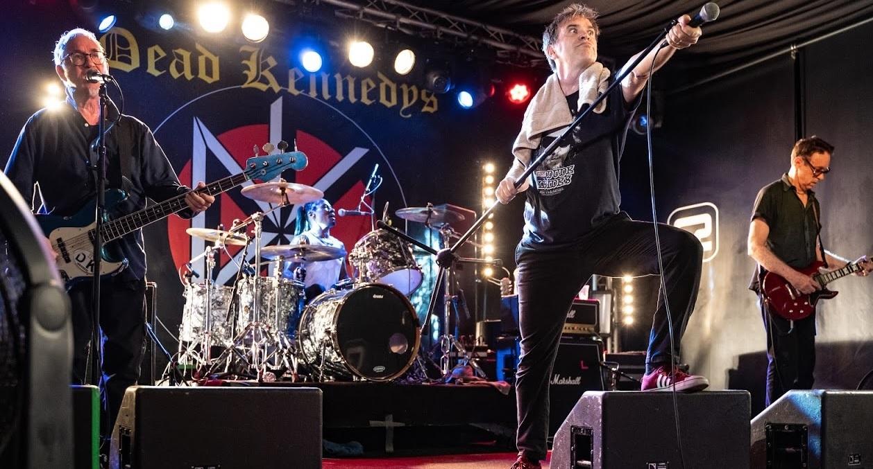 Dead Kennedys play rare Brighton gig