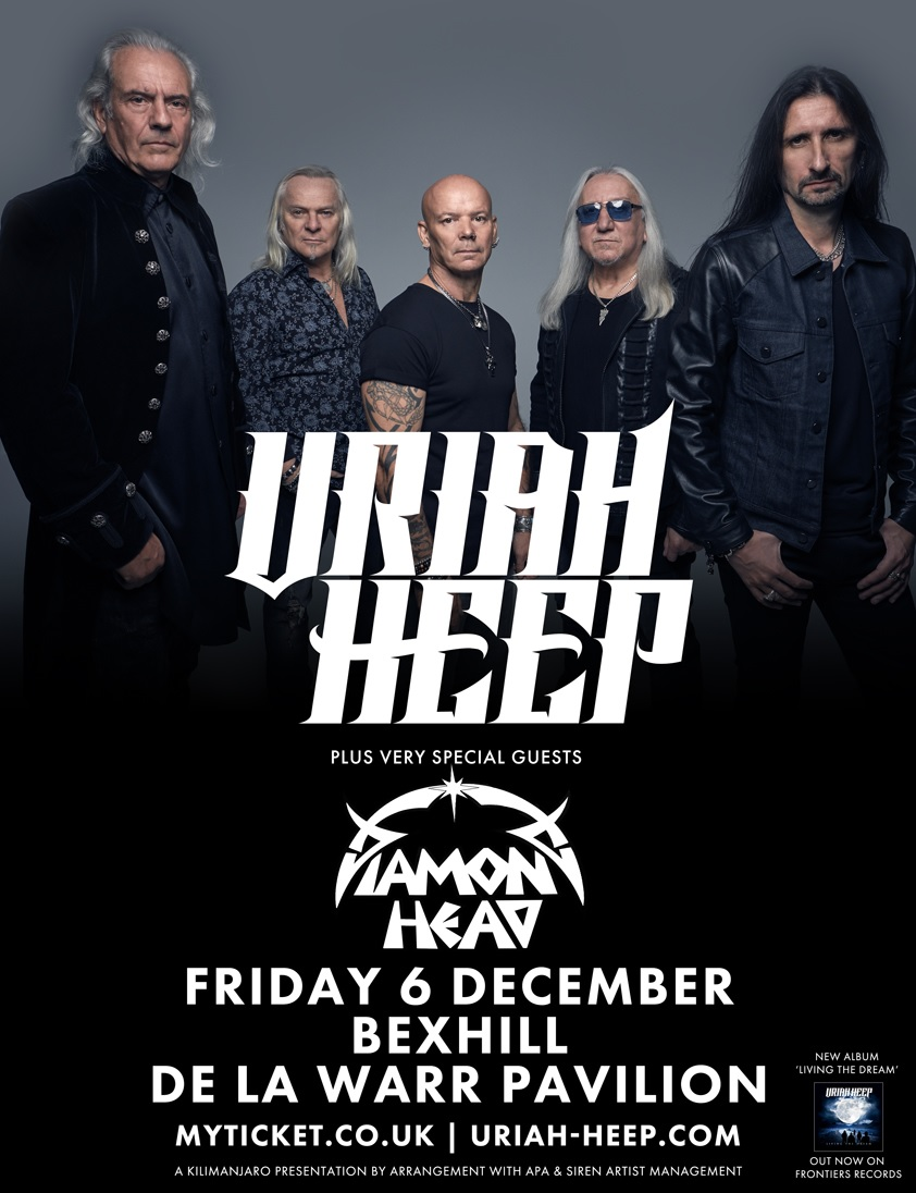 Brighton And Hove News Uriah Heep Announce Sussex Concert