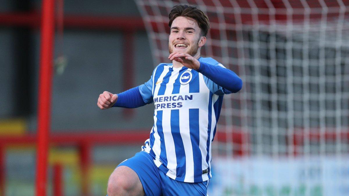 Teenage Brighton striker makes international debut